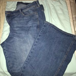 Women's Old Navy microflare